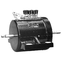 Электродвигатель переменного тока ДАТ-0,3 (трехфазный) - фото